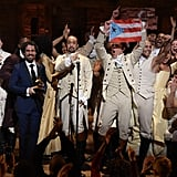 When the Cast of Hamilton Celebrated Their Grammy Win by Holding Up the Puerto Rican Flag