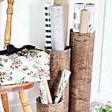 Use Old Materials to Create Extra Storage