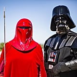 Red Guard and Darth Vader From Star Wars