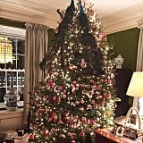 Designer Tory Burch shared a shot of her tree on Christmas Eve.
