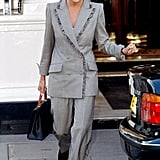 Princess Diana at The Connaught Hotel in 1997