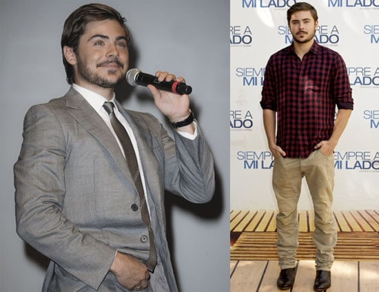 Pictures of Zac Efron Promoting Charlie St. Cloud in France and Spain