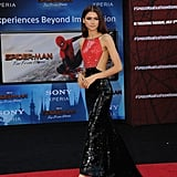 Zendaya at the Spider-Man Far From Home Premiere