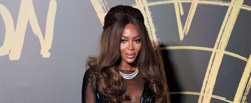 Naomi Campbell's Sheer Naked Dress Stuns at Fashion Week