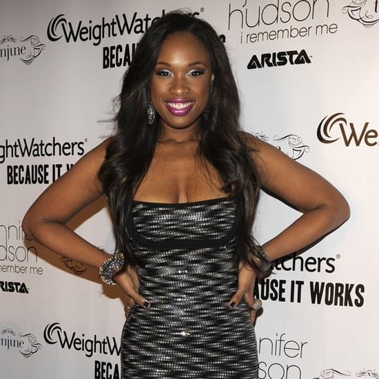 Pictures of Jennifer Hudson and Clive Davis at Album Launch Party