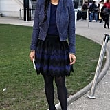 Black Tights Pair Best With Darker Outfits