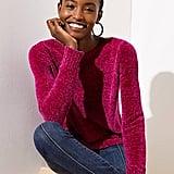 Petite Chenille Sweater