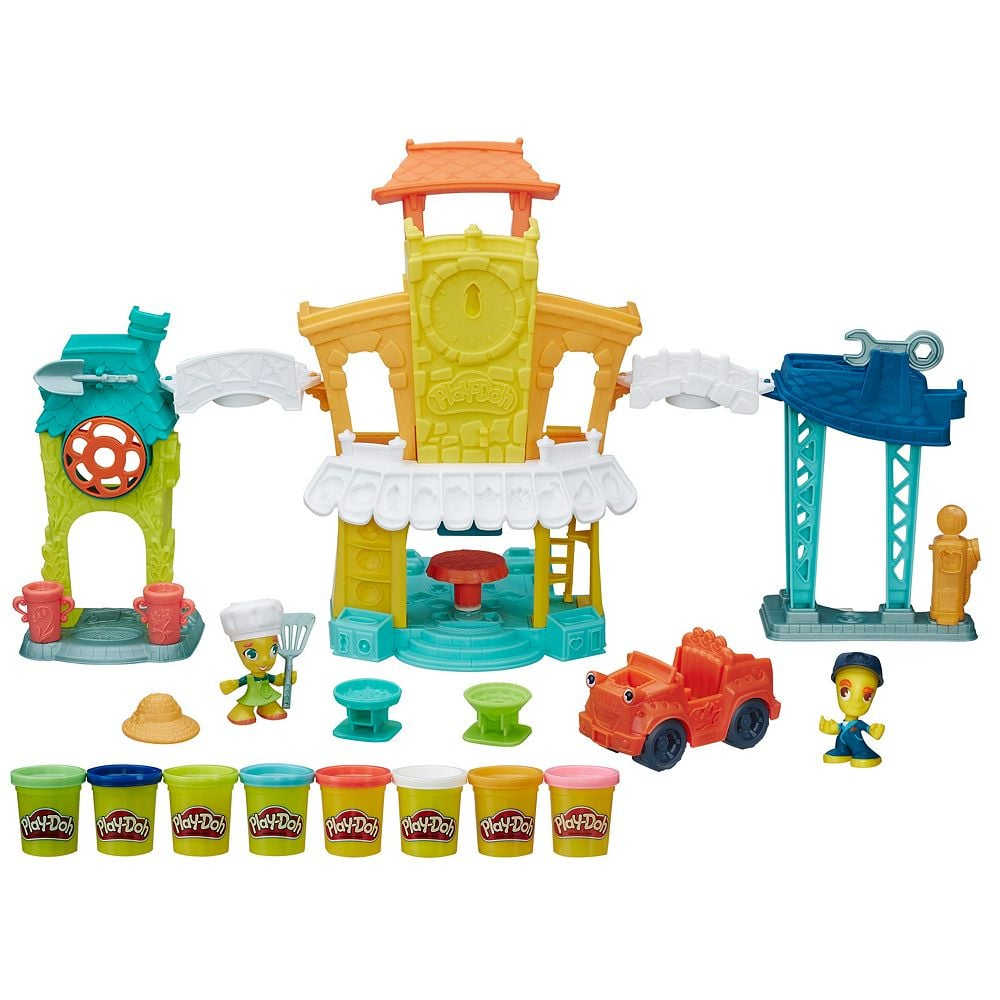 For 3-Year-Olds: Play-Doh Town 3-in-1 Town Center
