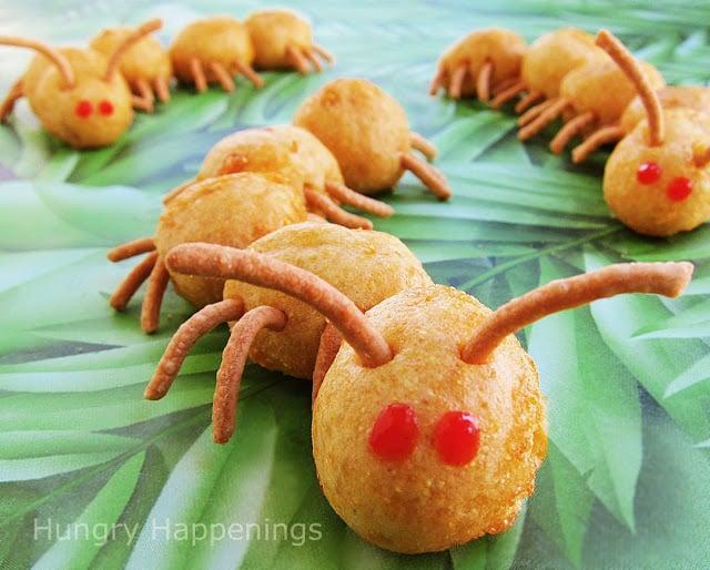 Creepy Corn Dog Centipedes