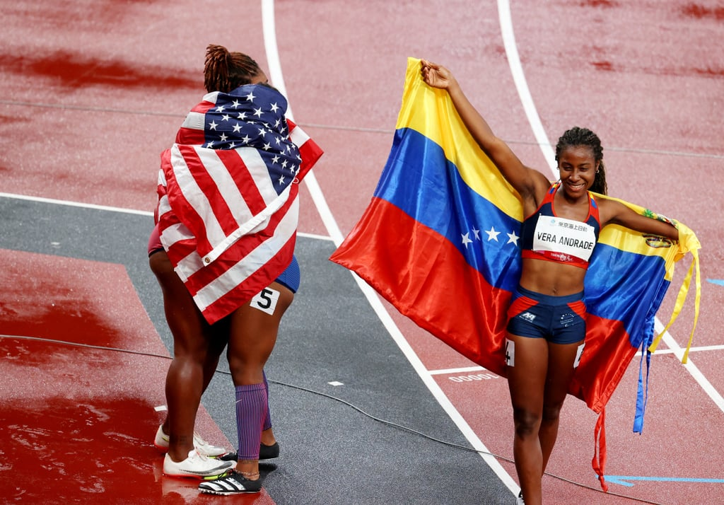 Brittni Mason and Deja Young Medal in Paralympics T47 100m