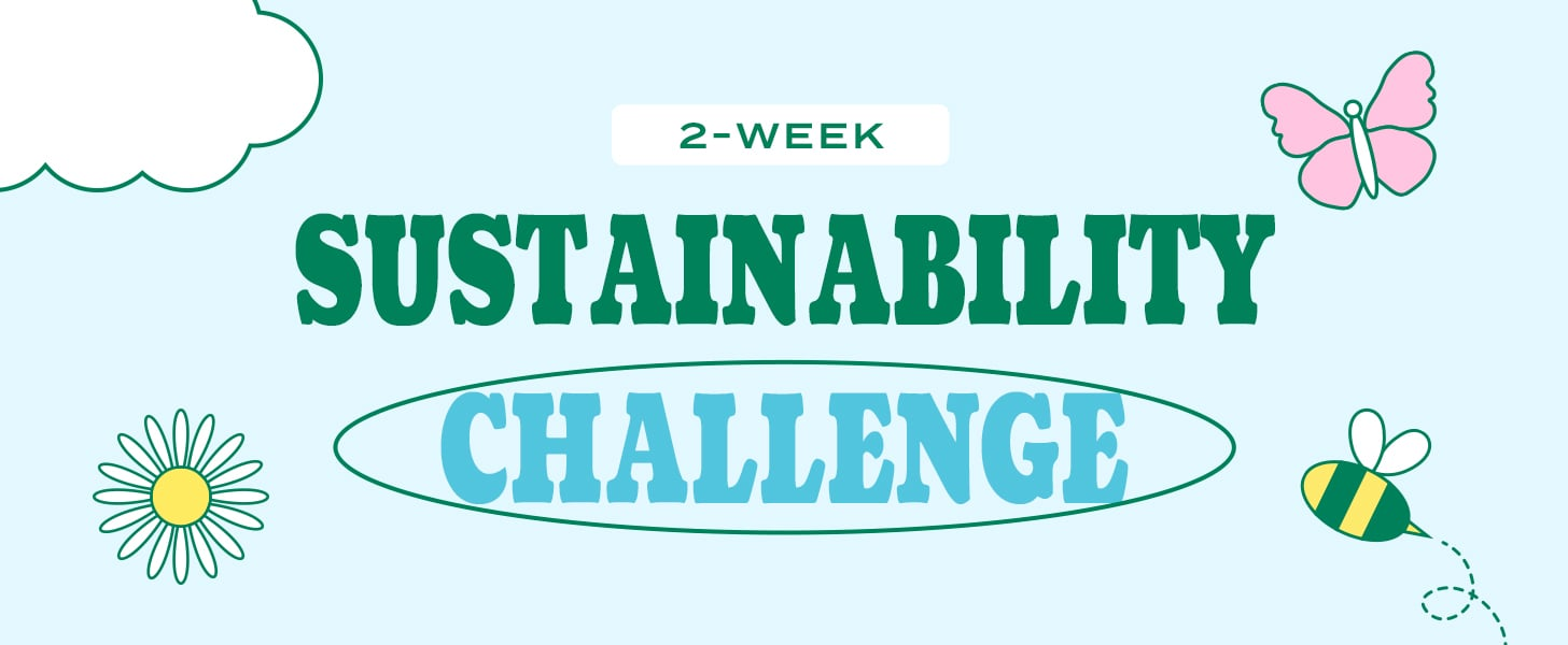 Take the 2-Week Sustainability Challenge | 2021