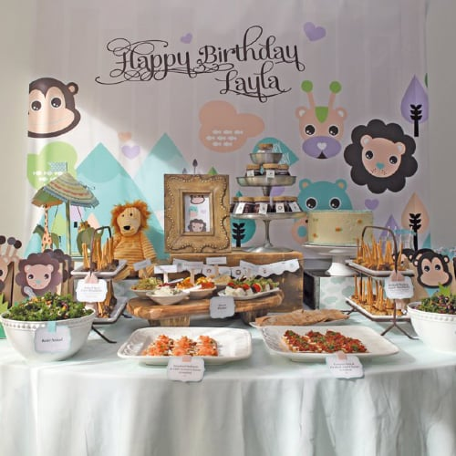 Party Animal 1st Birthday First Birthday Ideas: Keren Precel Events