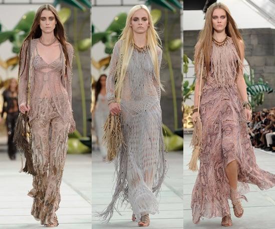 Photos of Roberto Cavalli Spring 2011 at Milan Fashion Week