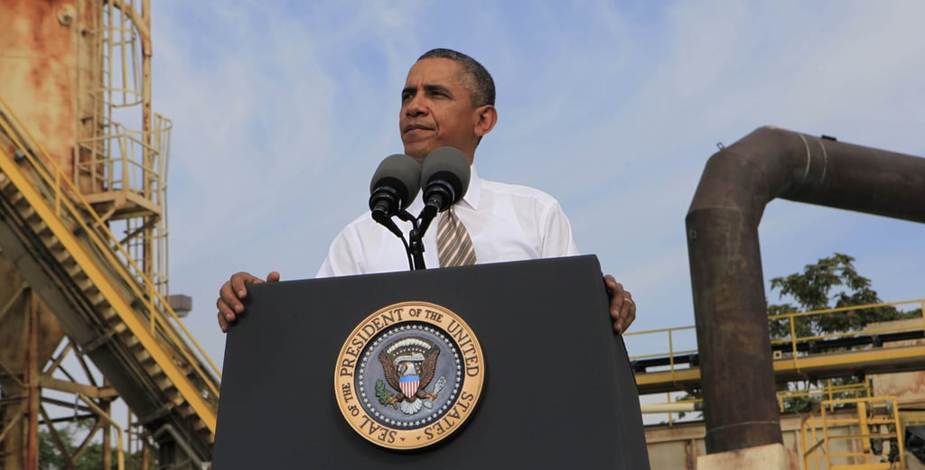 """President Obama talked about his disappointment over the """"Republican shutdown"""" while in Maryland on Oct. 3."""