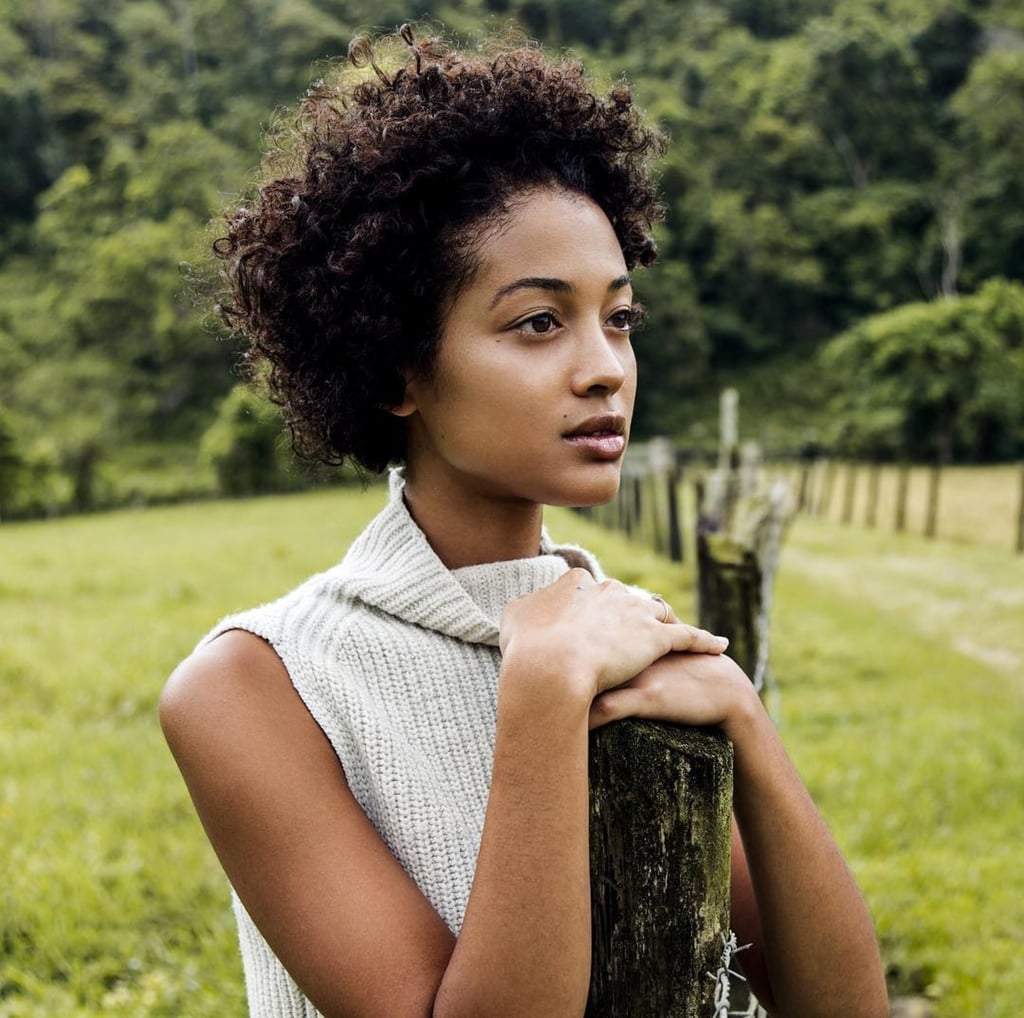 How I Easily Transitioned to Naturally Curly Afro Hair