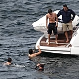 One Direction spent time outdoors while hanging out in Australia.