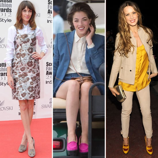 High-Heeled Loafers (Celebrity Pictures)