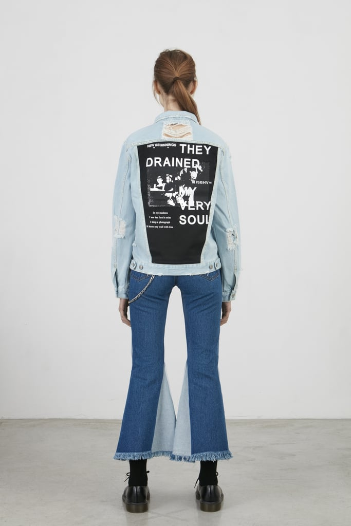 Misbhv Drained Denim Jacket ($212)