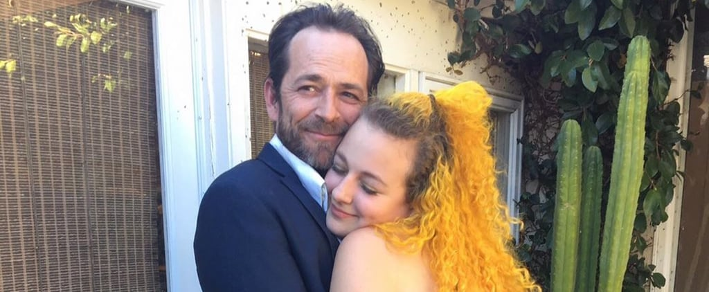Luke Perry's 53rd Birthday Tributes From Sophie and Jack