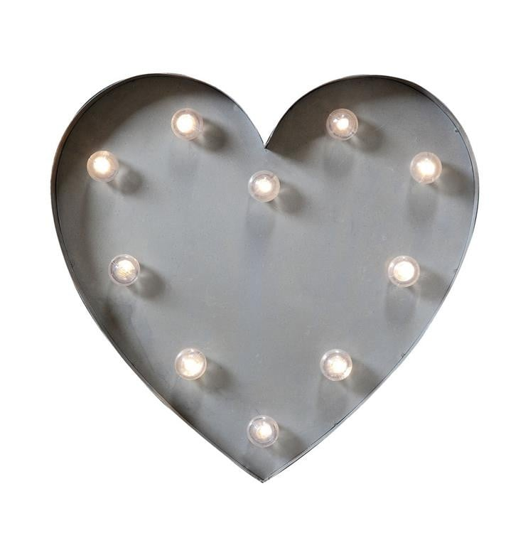 We love this Metal Heart Wall Lamp ($60) because it's on point for Valentine's Day and also superstylish year-round!