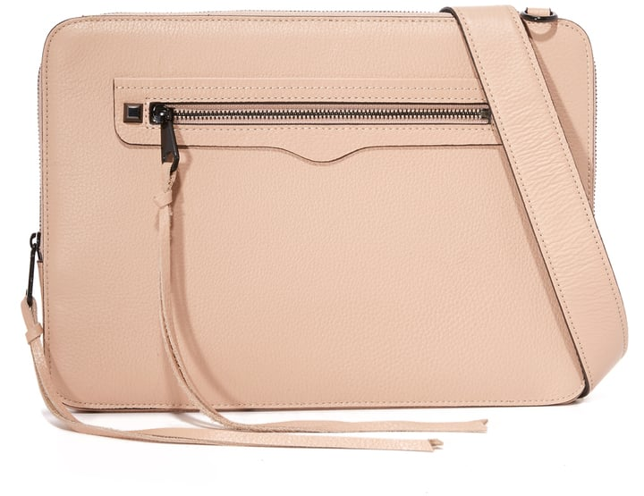 Rebecca Minkoff Regan Laptop Sleeve with Strap ($75)