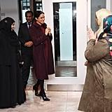 Meghan Markle Visits Hubb Community Kitchen November 2018