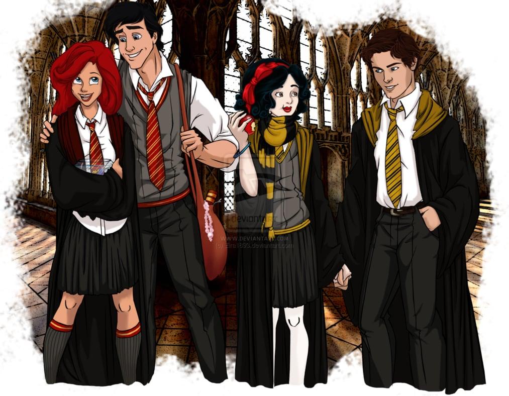 Disney Harry Potter Fan Art | POPSUGAR Love & Sex
