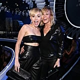 Miley Cyrus and Chelsea Handler