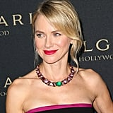 Naomi Watts at the Bulgari Decades of Glamour Oscar Party