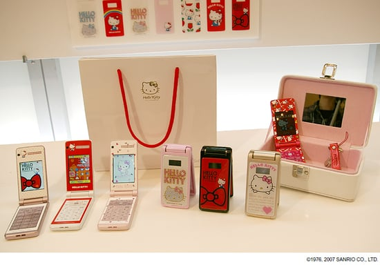 Hello Kitty AND Snoopy Cell Phones? You Shouldn't Have