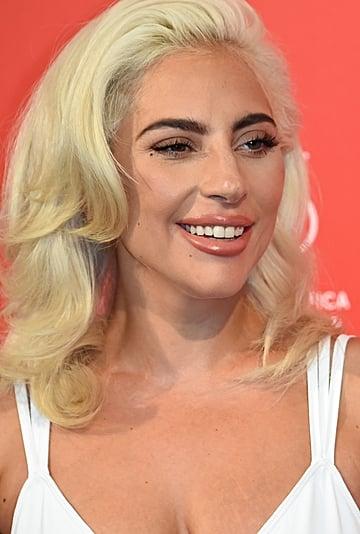 Lady Gaga Wears an Orange Star-Shaped Bikini by Lali + Layla