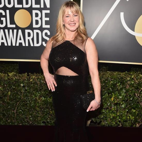 Tonya Harding at the 2018 Golden Globes
