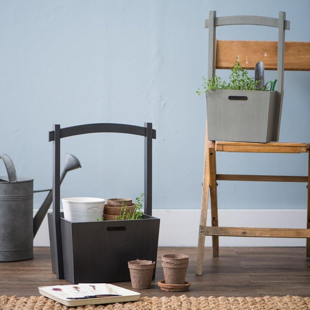 Magnolia Grey Wishing Well Basket