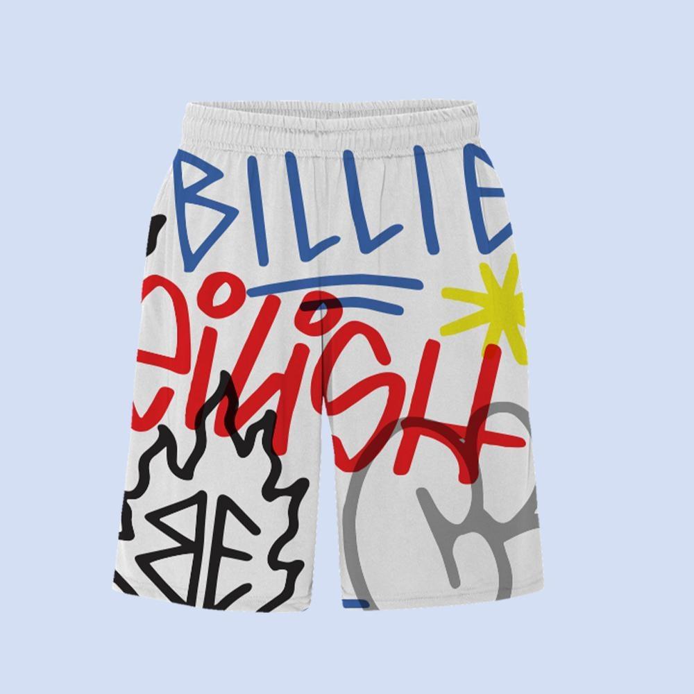 Graffiti All Over Print Shorts