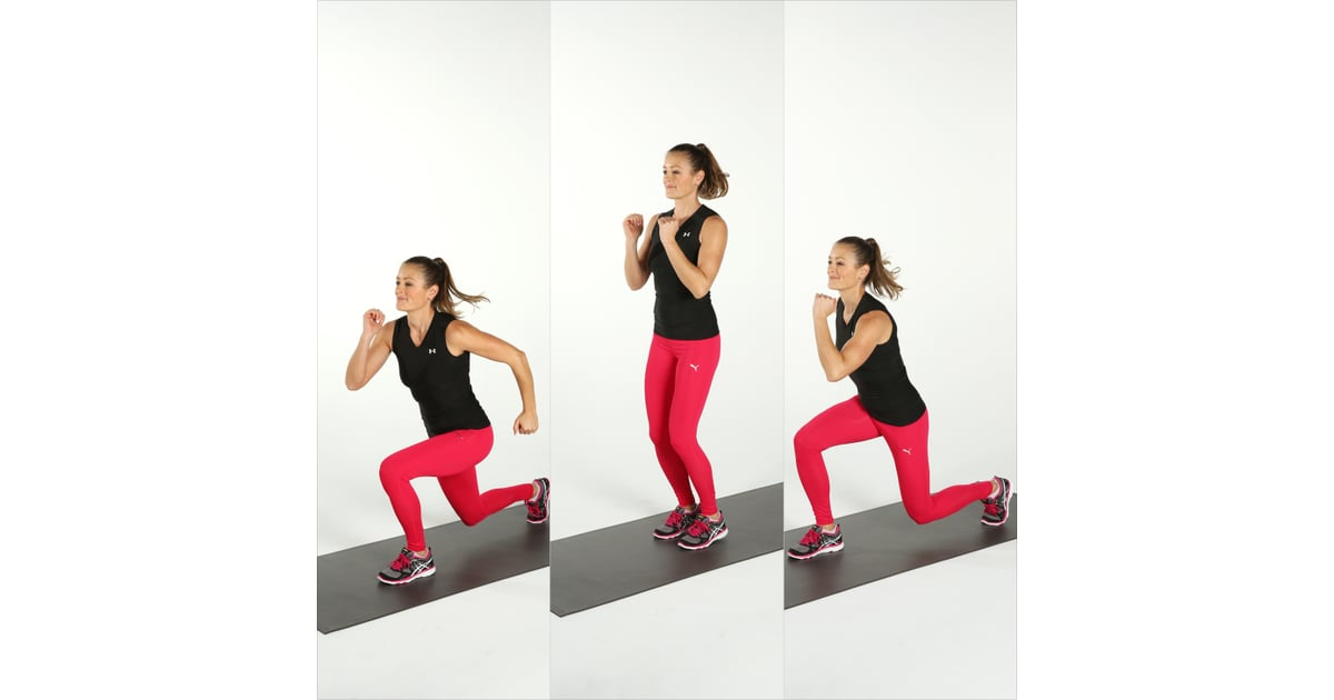 Split Lunge Jumps Best Cardio Bodyweight Exercises