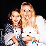 Miley Cyrus shared a pic from her childhood, with mom Tish Cyrus.  Source: Instagram user mileycyrus