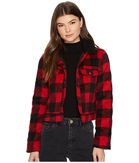 BB Dakota Plaid Jacket