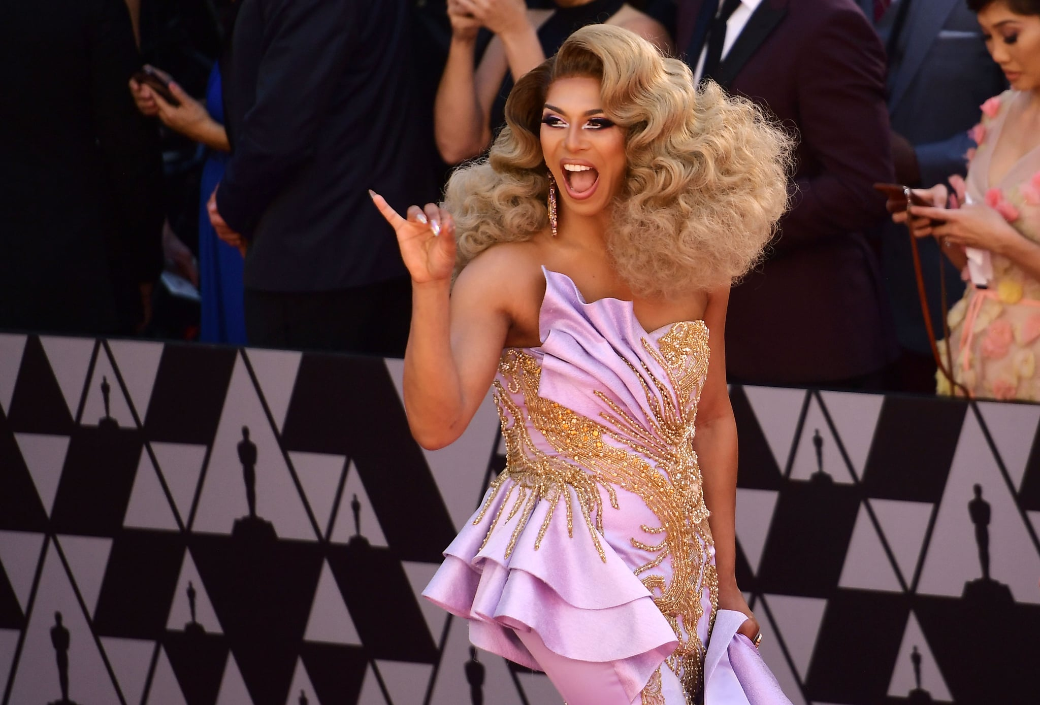 HOLLYWOOD, CALIFORNIA - FEBRUARY 24: Shangela attends the 91st Annual Academy Awards at Hollywood and Highland on February 24, 2019 in Hollywood, California. (Photo by Matt Winkelmeyer/Getty Images)