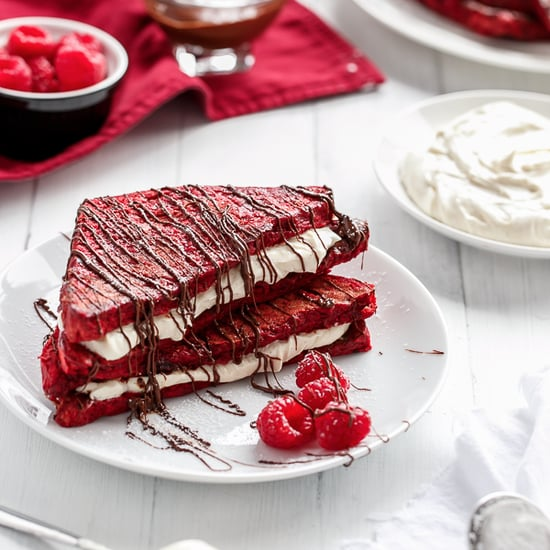 Red Velvet French Toast
