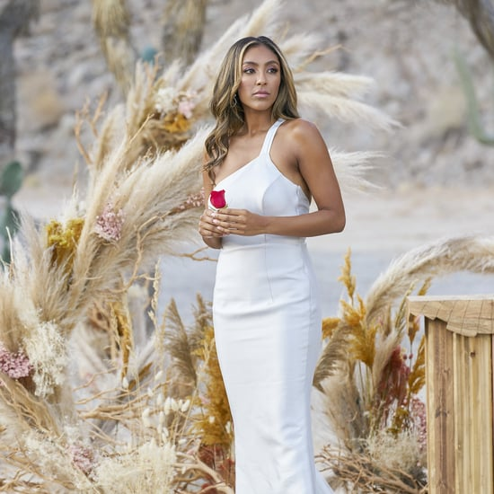 The Bachelorette's Stylist on Tayshia Adams's Finale Dress
