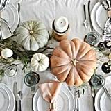 Pastel Pumpkin Centerpiece
