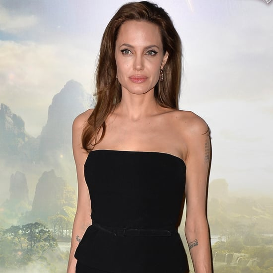 Angelina Jolie Designs Shoe With Christian Louboutin | Video