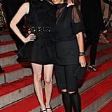 Emma Roberts in Marni with Consuelo Castiglioni