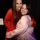 Sandra Bullock buddied up with her BFF Melissa McCarthy.