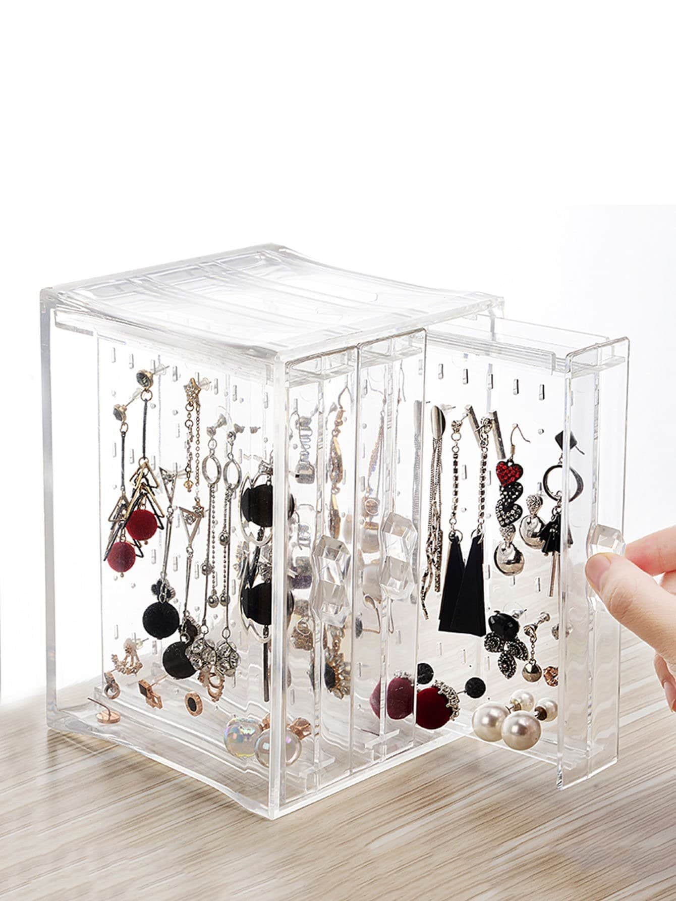 Clear Jewelry Storage Box Organize Your Home With These Cute Small Space Products Starting At 2 Popsugar Home Photo 78