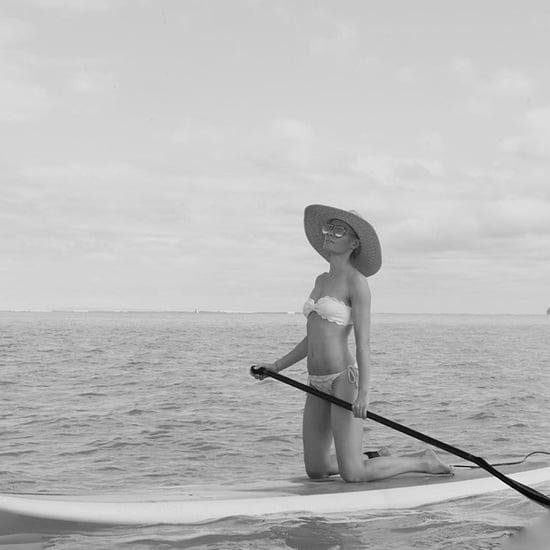 Kate Bosworth Wearing a Marysia Bikini