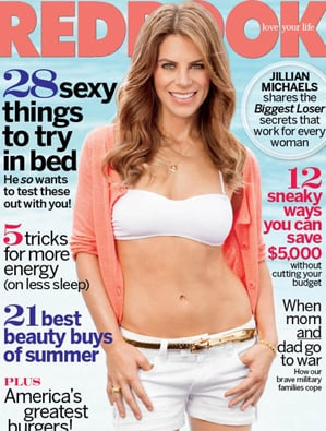 Jillian Michaels Covers Redbook With Picture of Herself as 175-Pound Teenager
