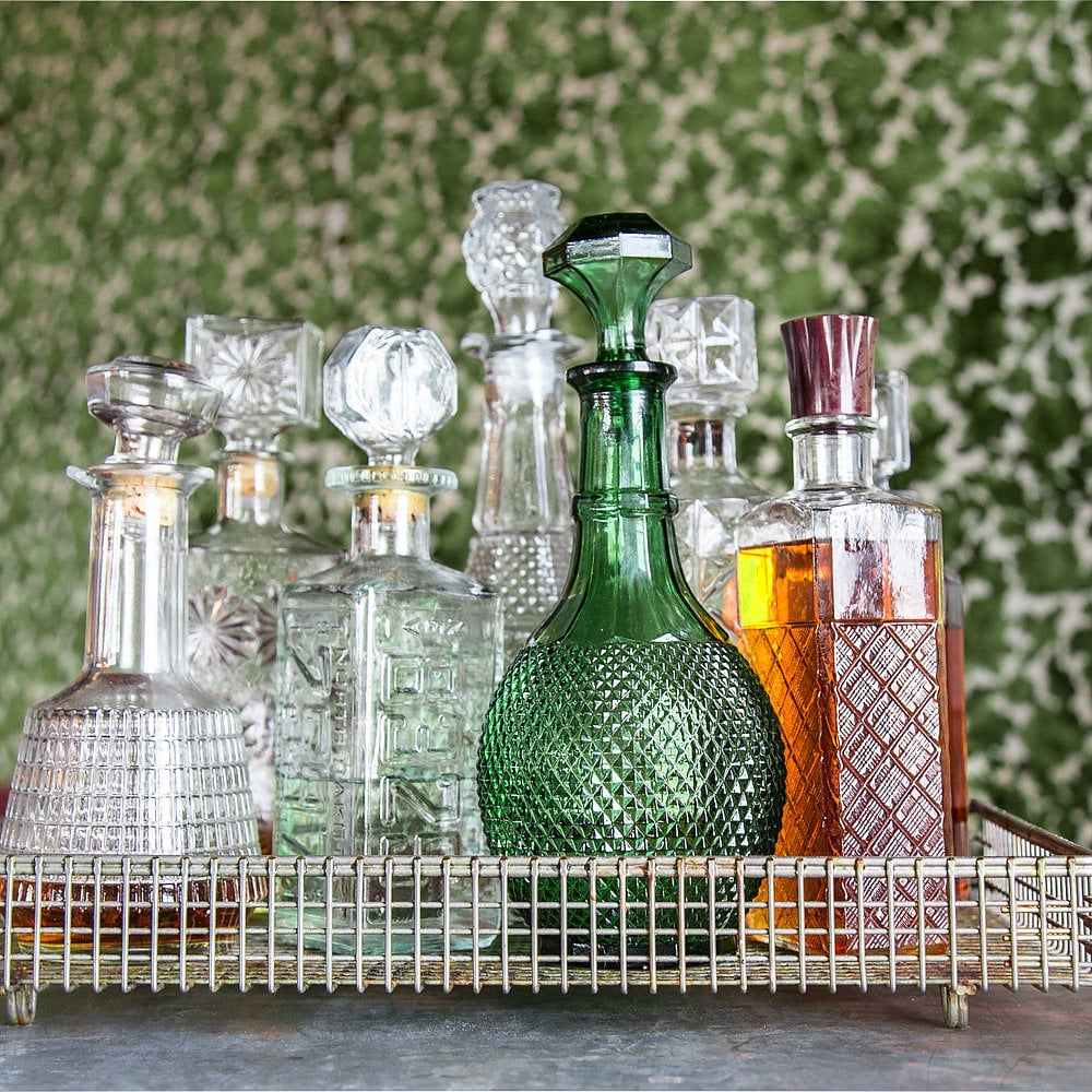 Because Potions class is a Slytherin specialty, members of the house are sure to need a killer bar cart for complex cocktails!