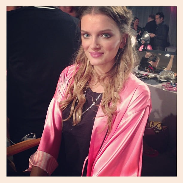 Lily Donaldson looked calm and collected before the big event. Source: Instagram user elleuk
