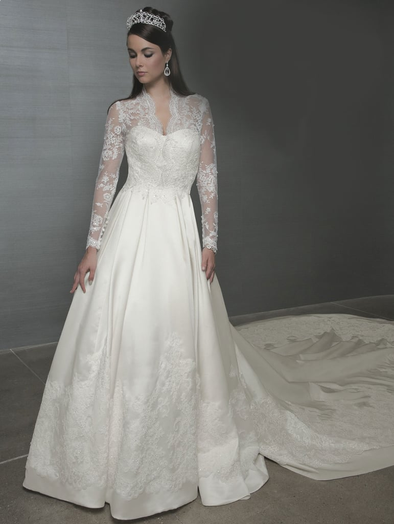 Shop Kate Middleton Wedding Dress Lookalikes | POPSUGAR Fashion